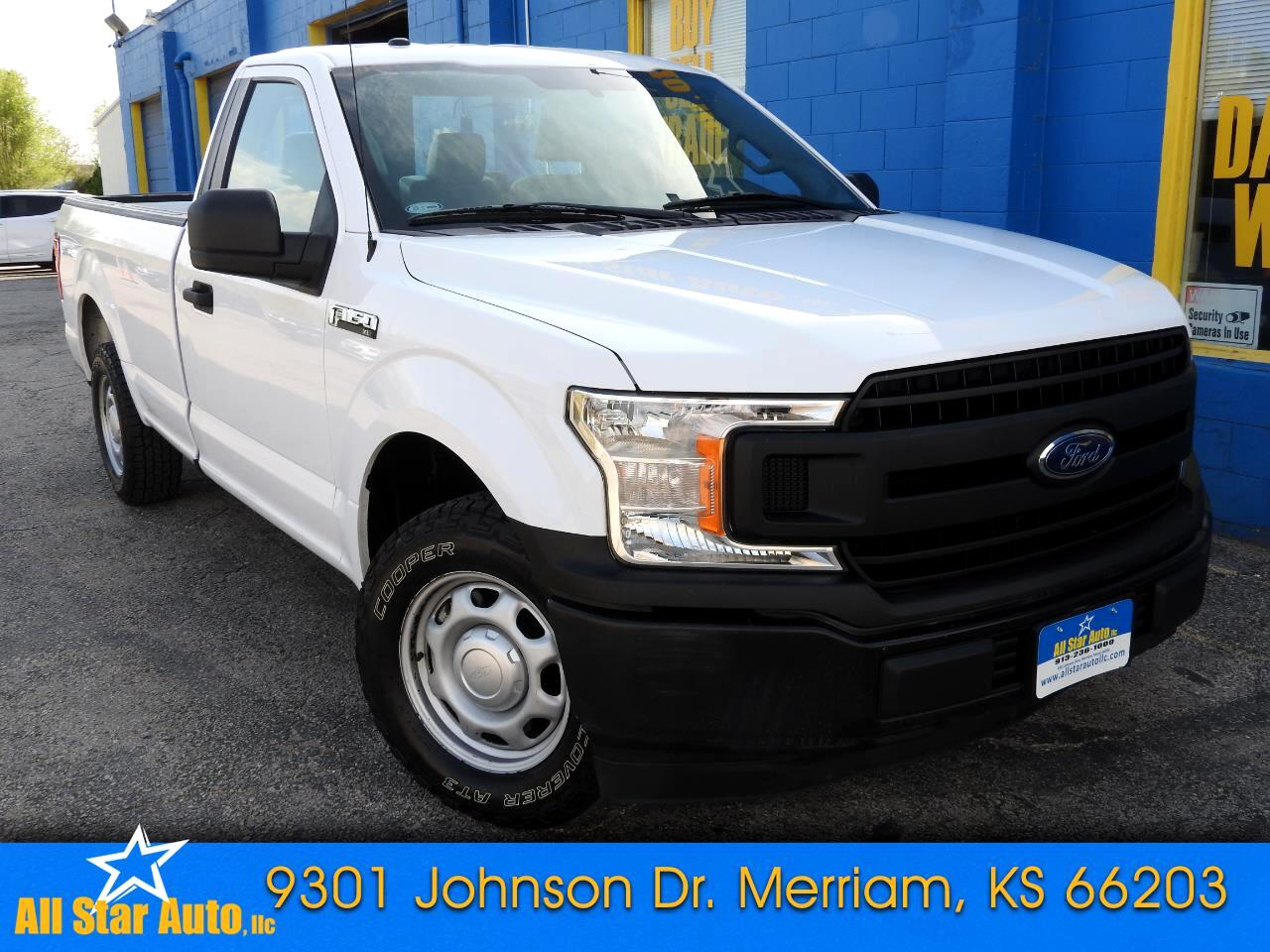 Ford F-150 XLT 2WD Reg Cab 8' Box 2018