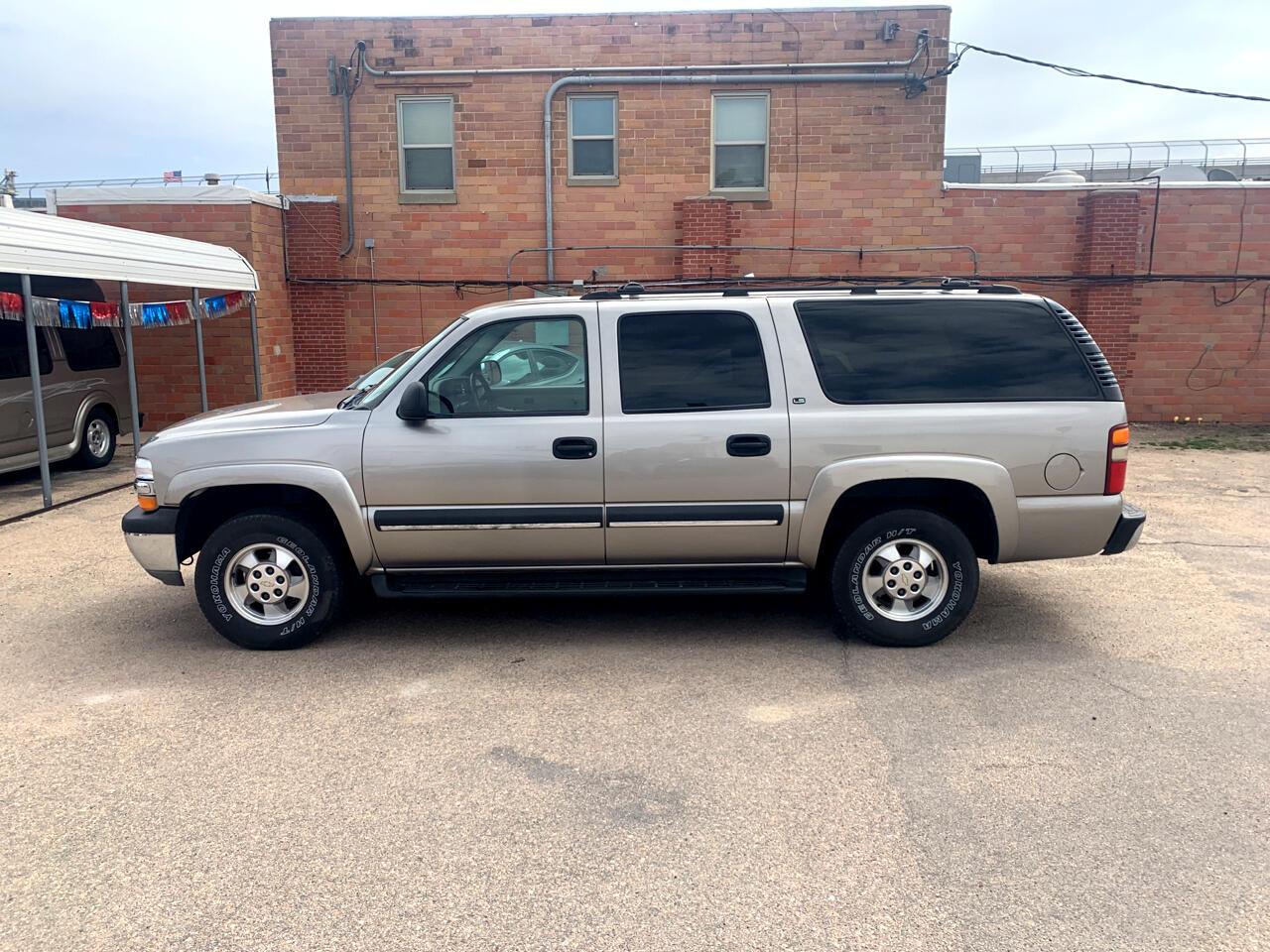 Chevrolet Suburban  1500 LS  4 1500 4WD 2002