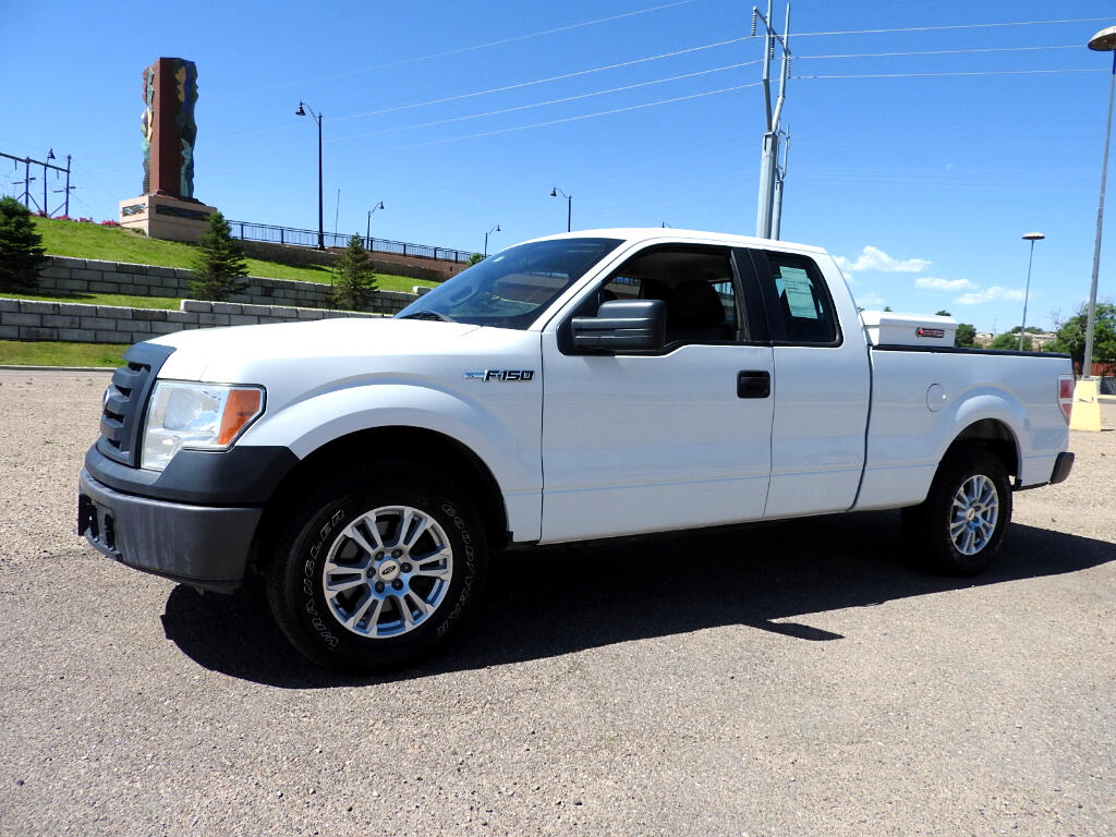 2010 Ford F-150 SuperCab Long Bed 2WD