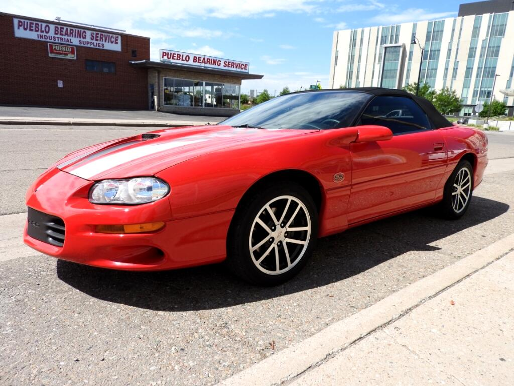 2002 Chevrolet Camaro SS Convertible 35th Anniversary