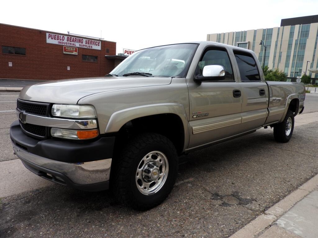 2002 Chevrolet Silverado 2500HD LS Crew Cab Long Bed 4WD