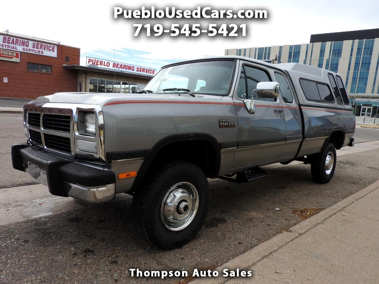 1992 Dodge RAM 250 Club Cab 8-ft. Bed 4WD