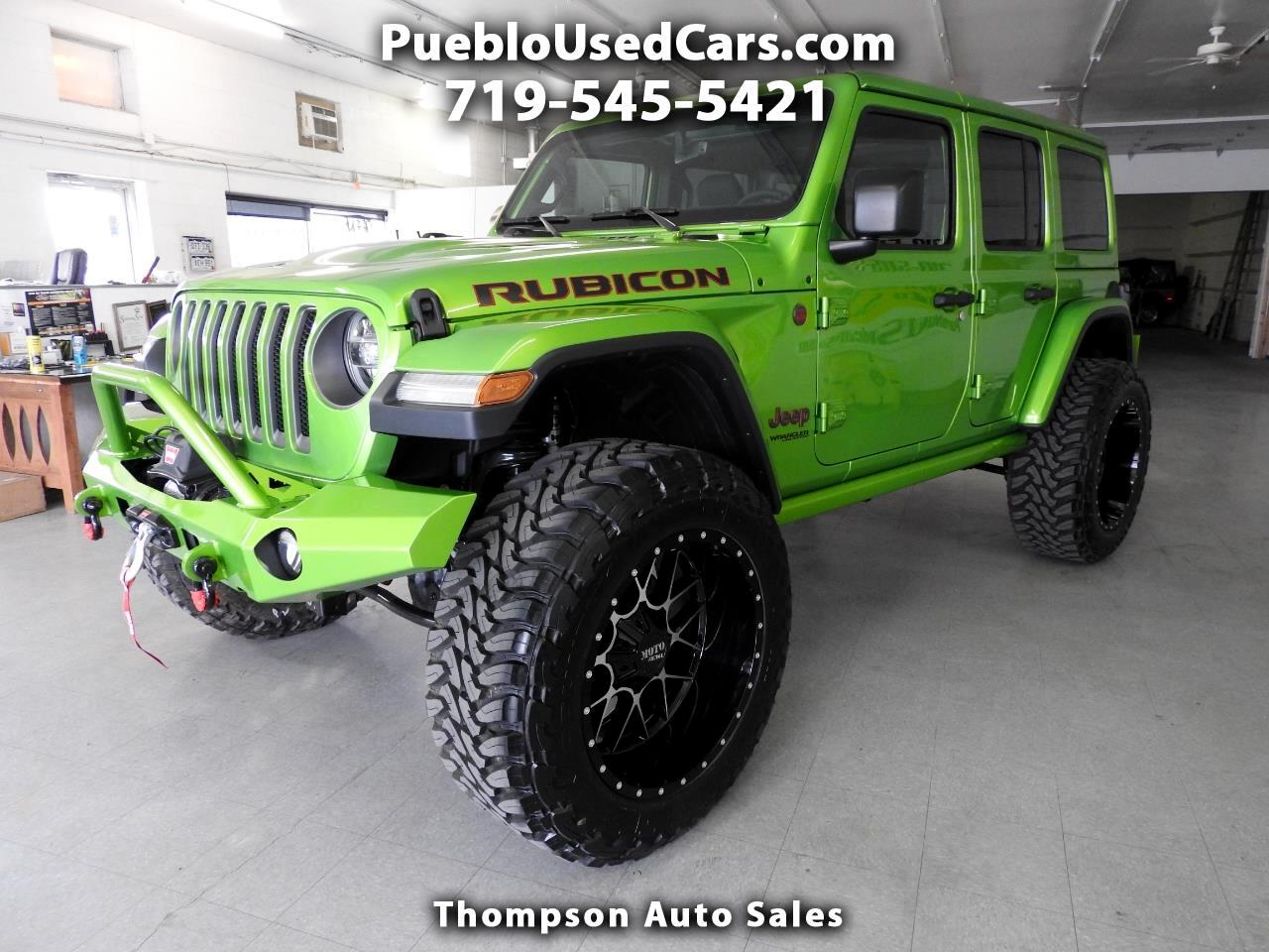 Cars For Sale In Pueblo >> Used 2019 Jeep Wrangler Unlimited Rubicon For Sale In Pueblo