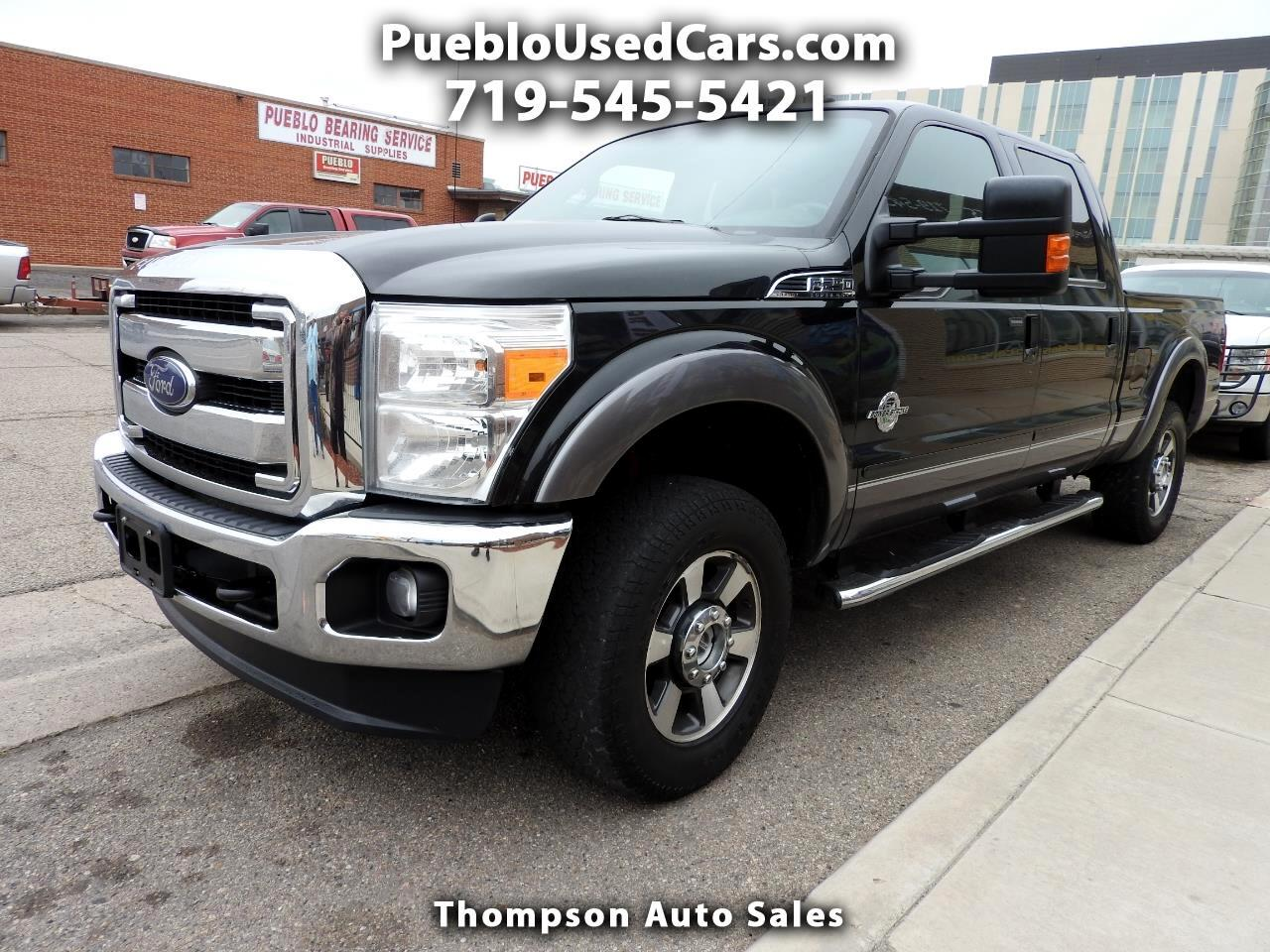 2014 Ford F-250 SD Lariat Crew Cab Long Bed 4WD