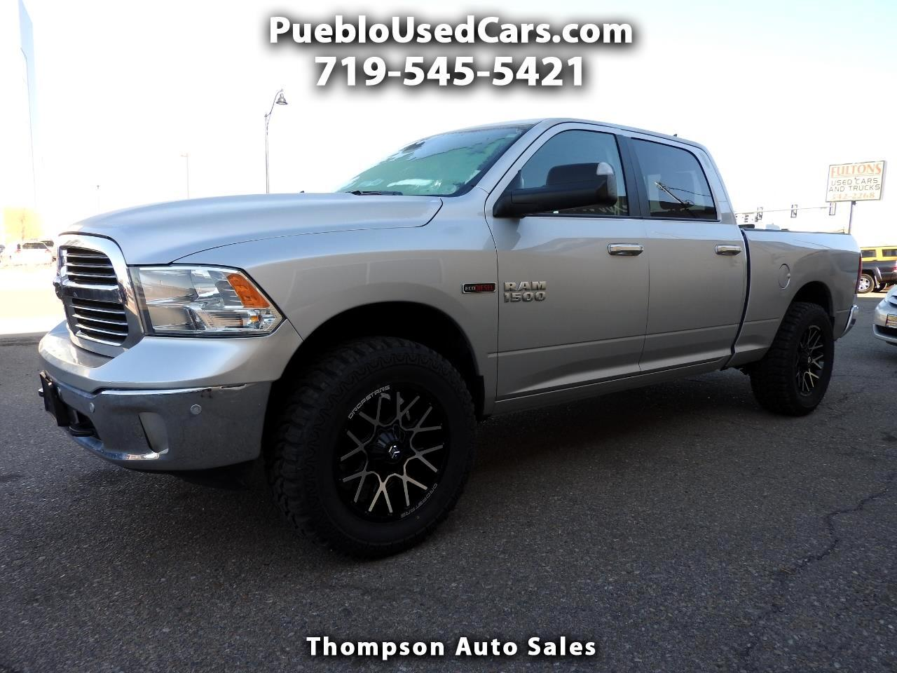 2016 RAM 1500 Big Horn Crew Cab 4WD with Leather