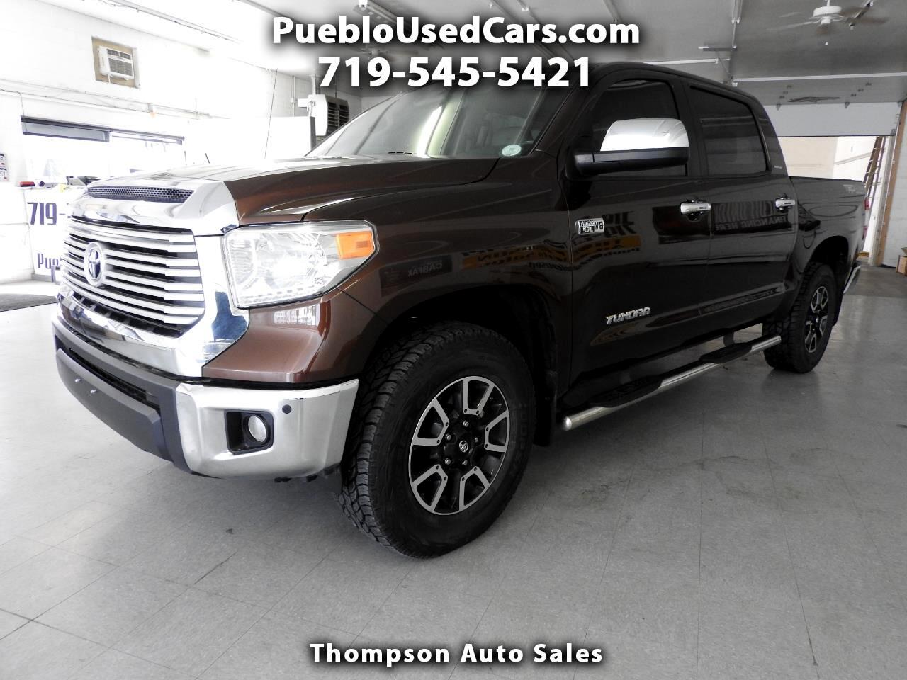 2014 Toyota Tundra Limited CrewMax 4WD TRD