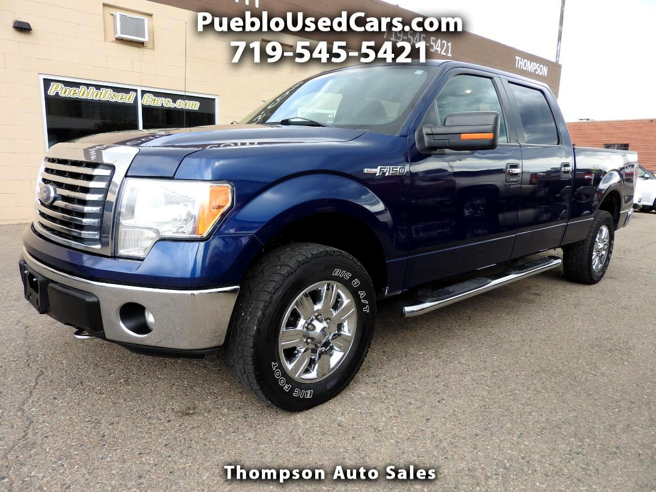 2012 Ford F-150 XLT SuperCrew Long Bed 4WD
