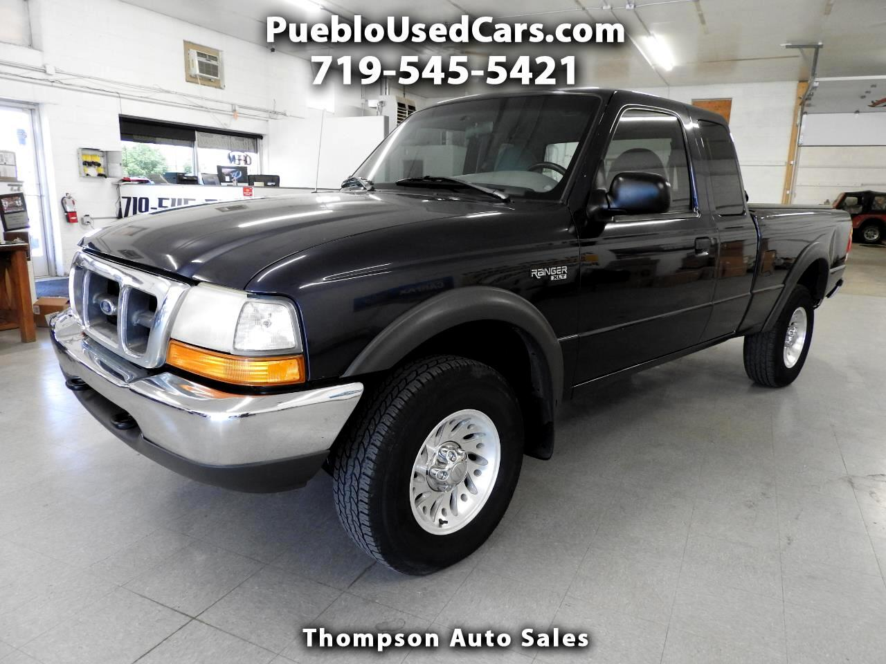 1999 Ford Ranger XLT SuperCab 4 Door 4WD