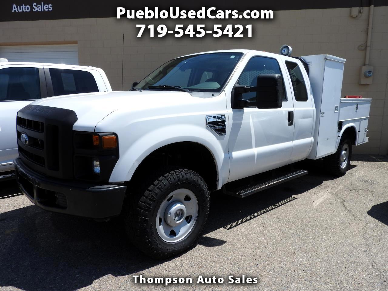 2008 Ford F-350 SD SuperCab Utility 4WD