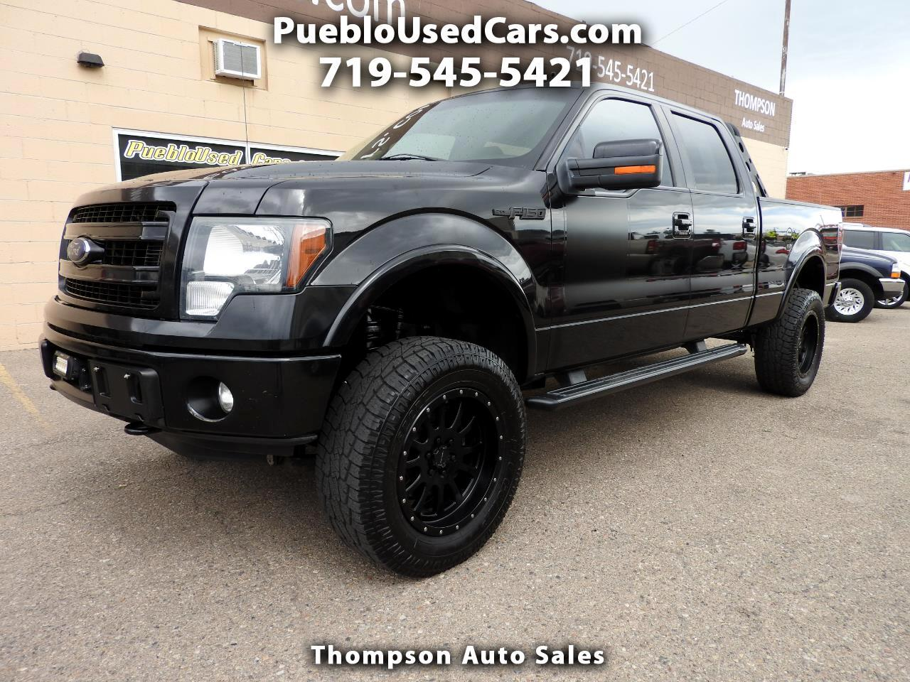 2013 Ford F-150 FX4 SuperCrew 4WD EcoBoost