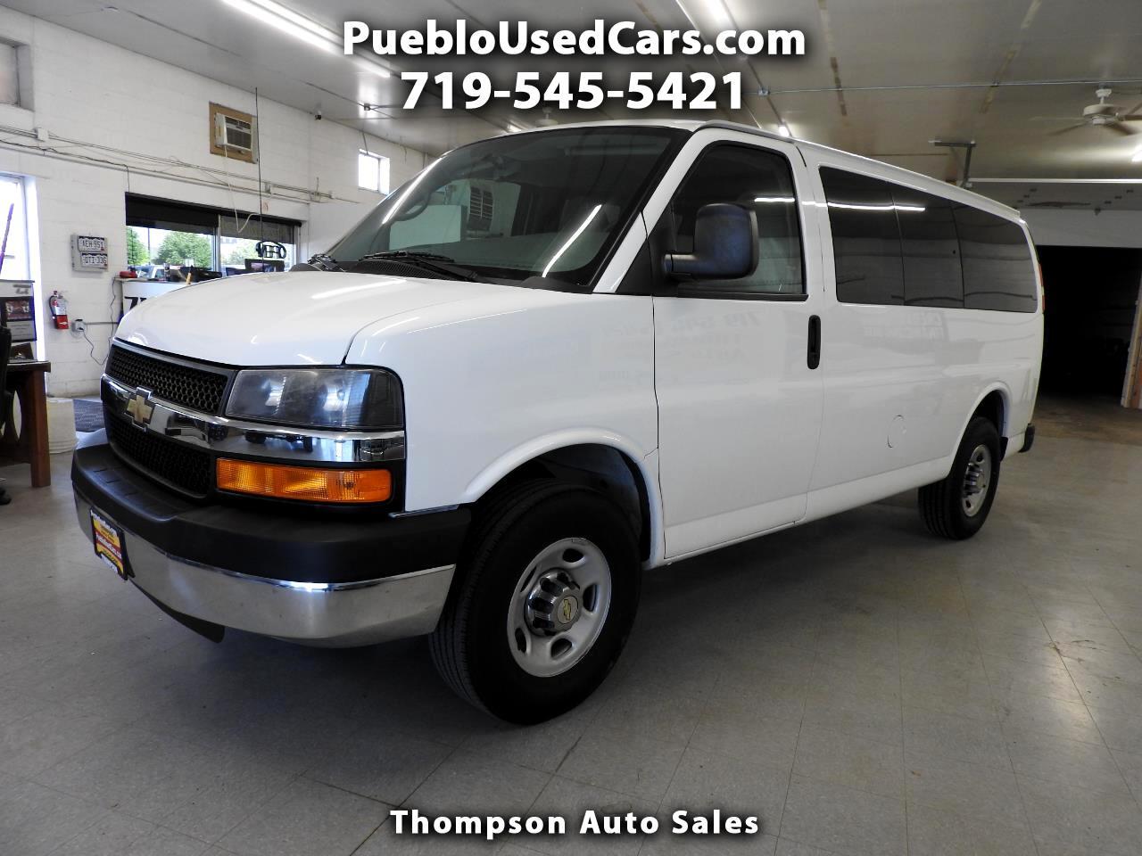 2013 Chevrolet Express LT 3500 12 Passenger
