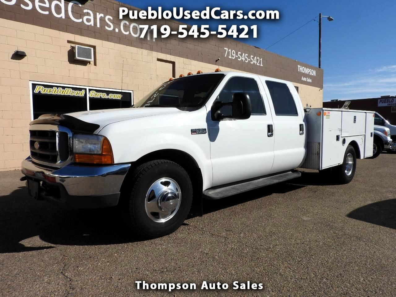 2000 Ford F-350 SD Lariat Crew Cab Utility Bed DRW 2WD