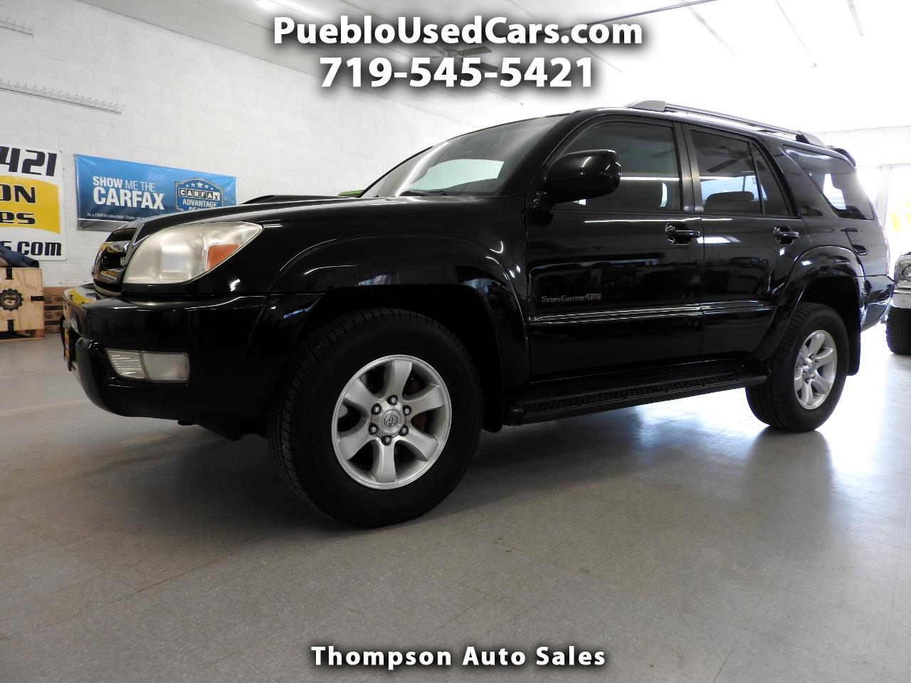 Cars For Sale In Pueblo >> Used 2005 Toyota 4runner Sport Edition V8 4wd For Sale In