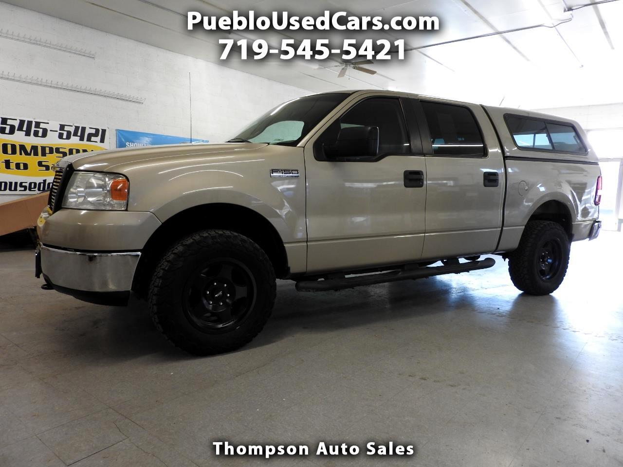 Cars For Sale In Pueblo >> Used 2008 Ford F 150 Xlt Supercrew 4wd For Sale In Pueblo Co