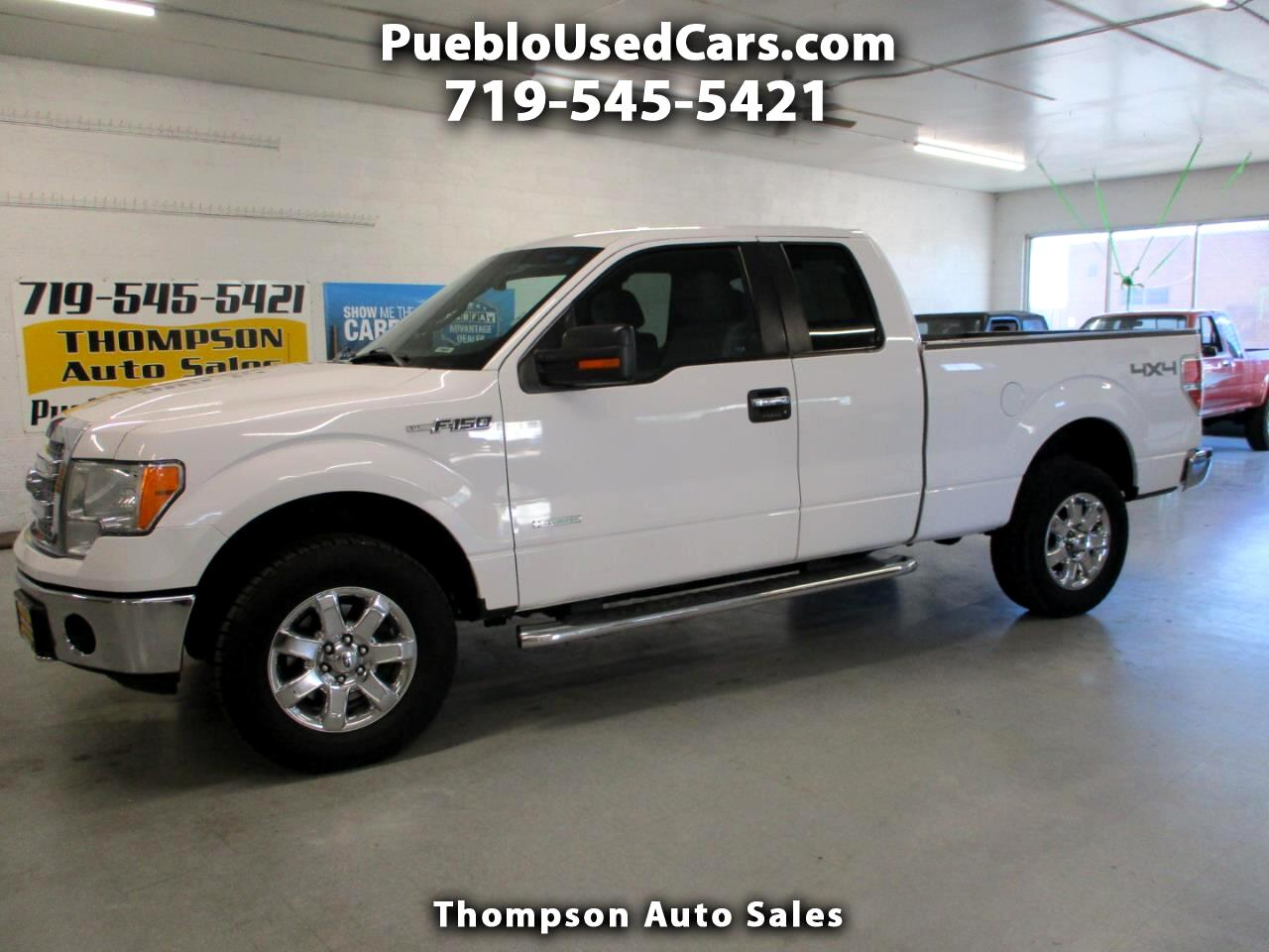 Ford F-150 XLT SuperCab 4WD 2014