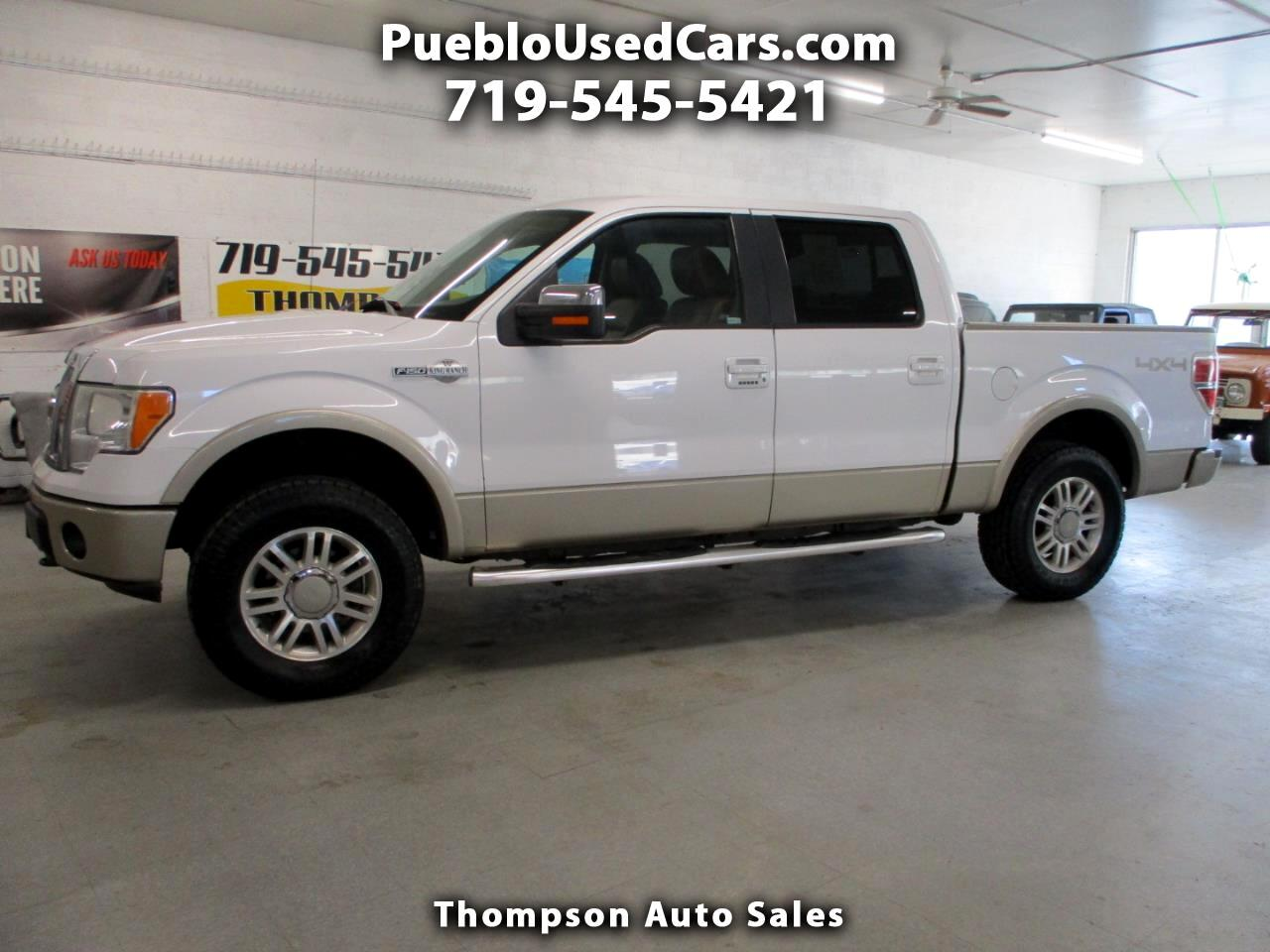 Ford F-150 King Ranch SuperCrew 4WD 2009