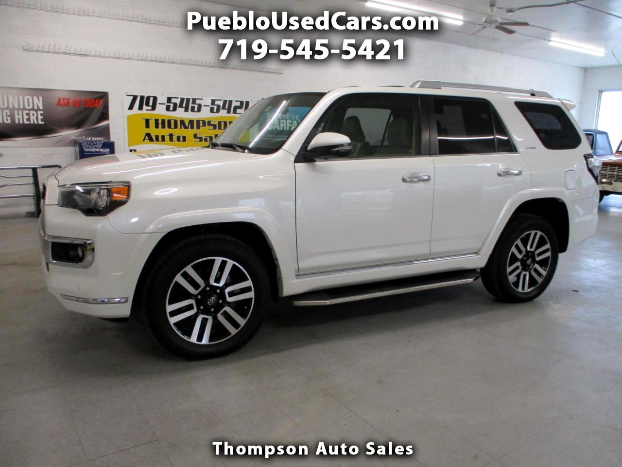Toyota 4Runner Limited 4WD 2016