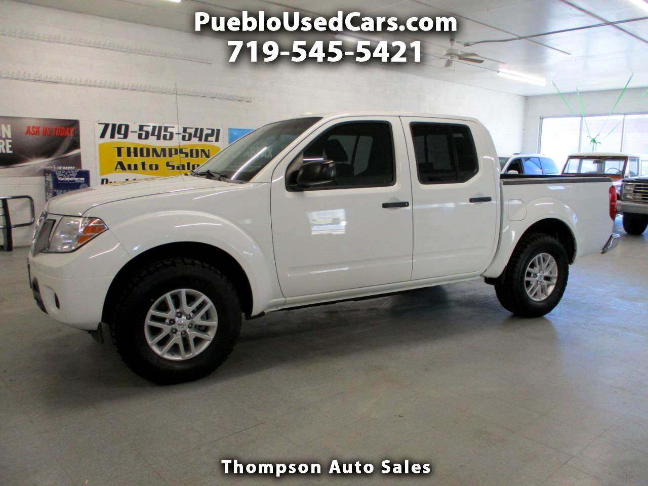 Nissan Frontier SV Crew Cab 4WD 2016