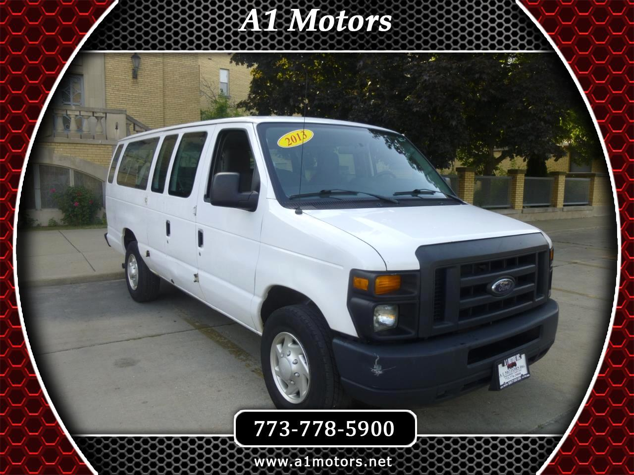 Ford Econoline E-350 XLT Super Duty Extended 2013