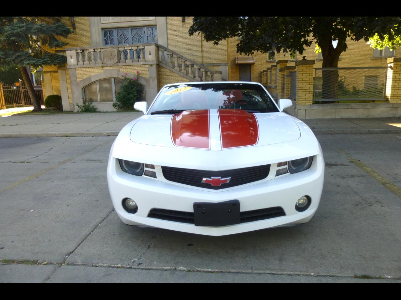 Chevrolet Camaro Convertible 2LT 2012