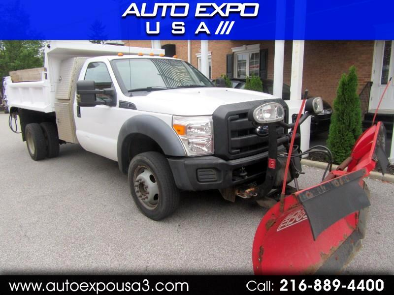 Ford F-550 Regular Cab DRW 4WD 2011