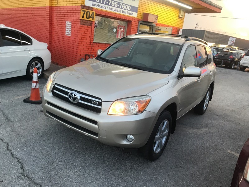 Toyota RAV4 Limited V6 2WD with 3rd Row 2007