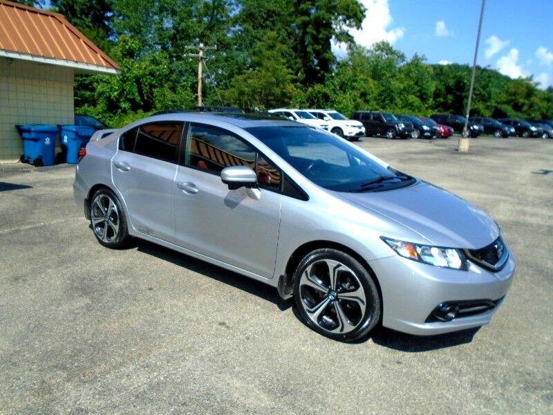 2014 Honda Civic Si Sedan 6-Speed MT