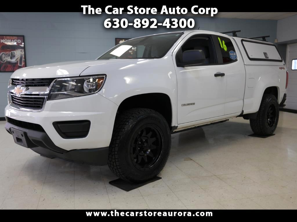 2016 Chevrolet Colorado W/T EXT. 4WD