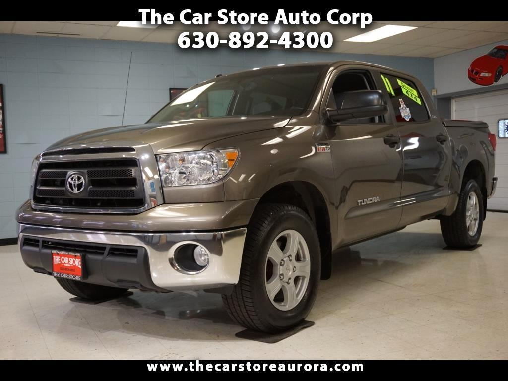 2011 Toyota Tundra Tundra-Grade 5.7L CrewMax 4WD