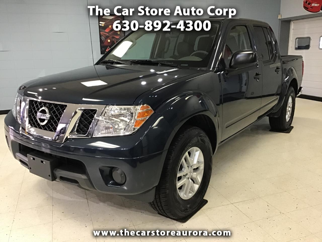2019 Nissan Frontier SV Crew Cab 6AT 2WD