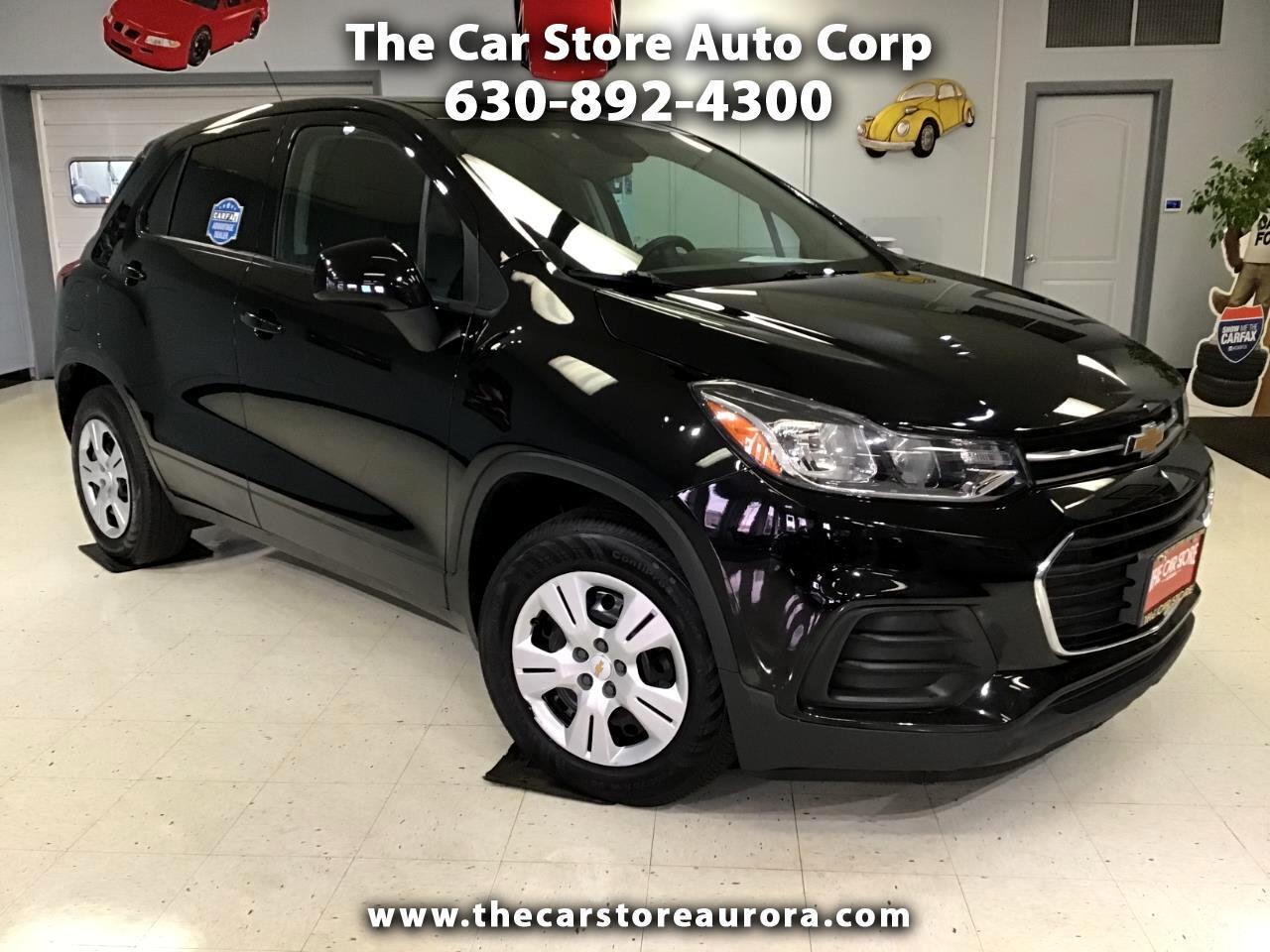 2018 Chevrolet Trax FWD 4dr LS