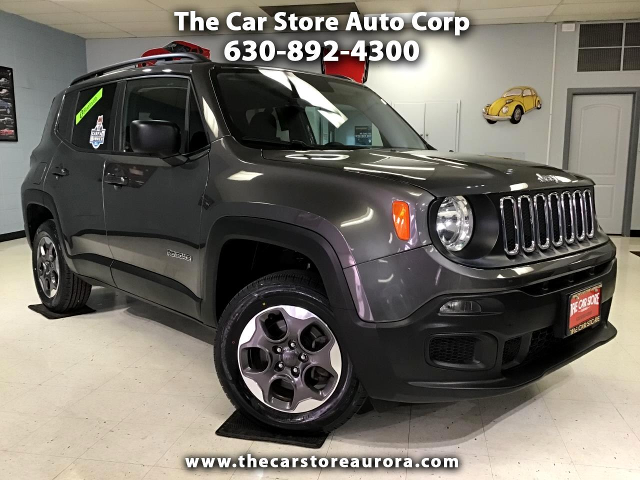 2016 Jeep Renegade Sport 4WD
