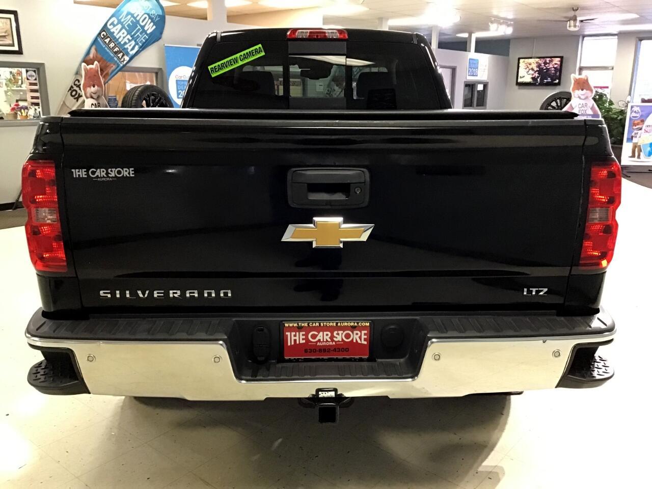 2015 Chevrolet Silverado 1500 LTZ Double Cab Short Box 4WD