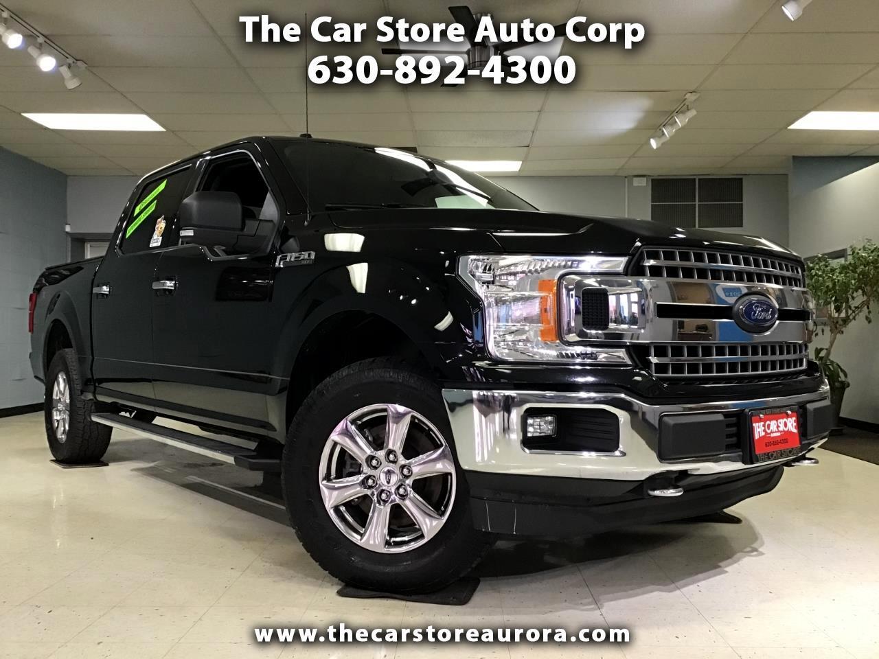 Ford F-150 XLT 4WD SuperCrew 5.5' Box 2018