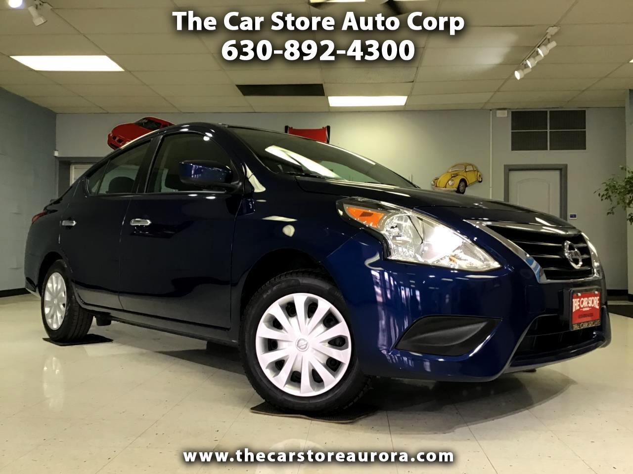 Nissan Versa Sedan SV CVT 2019