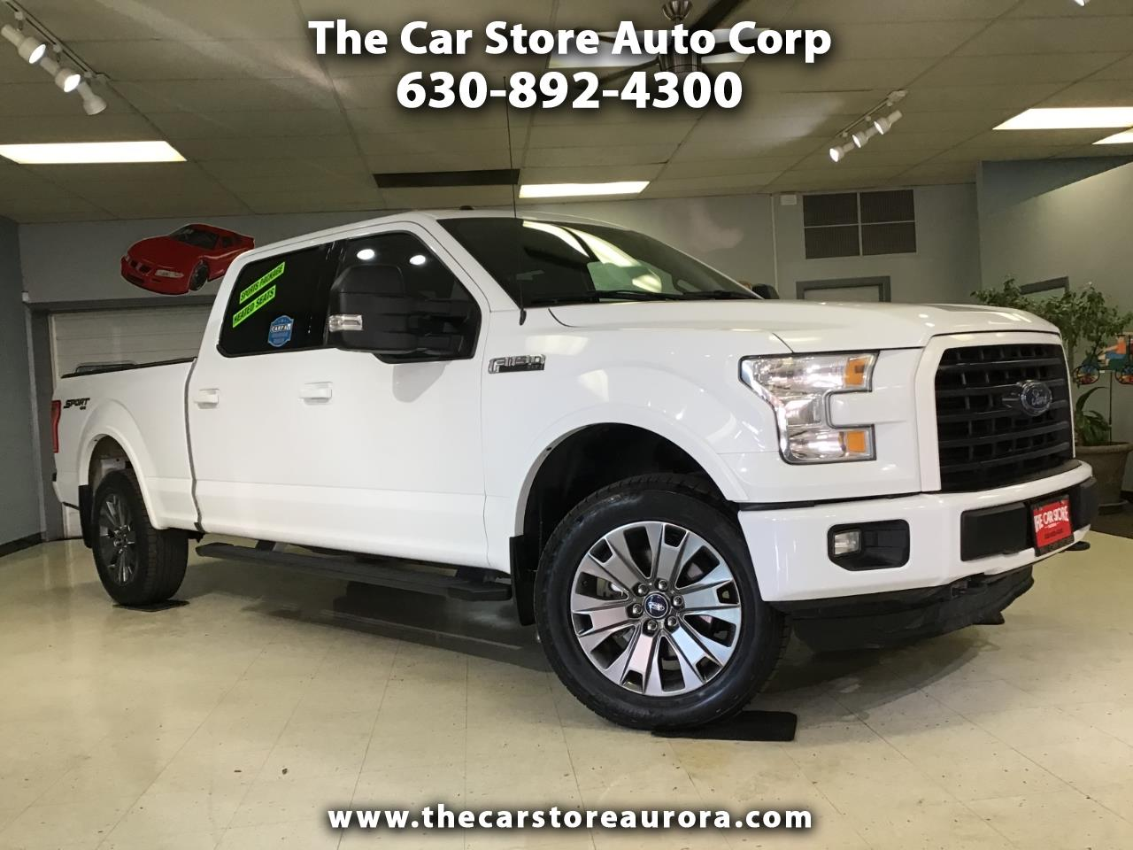"Ford F-150 4WD SuperCrew 157"" XLT 2015"