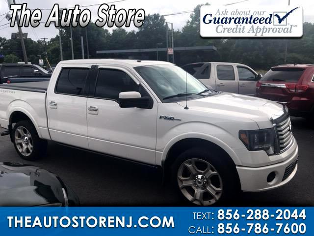 "2011 Ford F-150 SuperCrew 139"" Lariat 4WD"