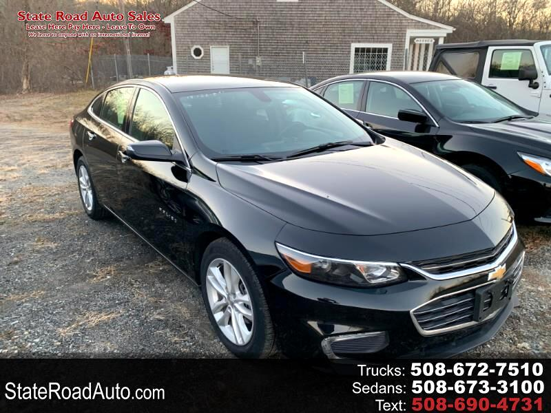 State Road Auto Sales >> Used 2018 Chevrolet Malibu Lt For Sale In Westport Ma 02790
