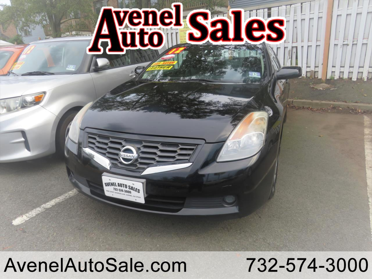 Nissan Altima 2.5 S Coupe 2008
