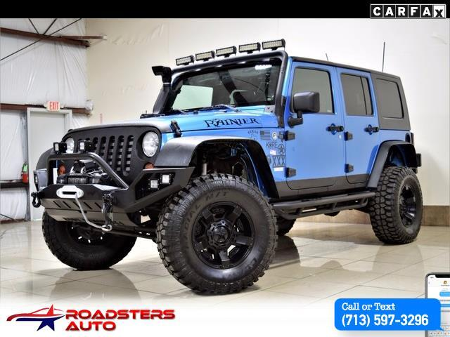 2010 Jeep Wrangler custom lifted 4x4