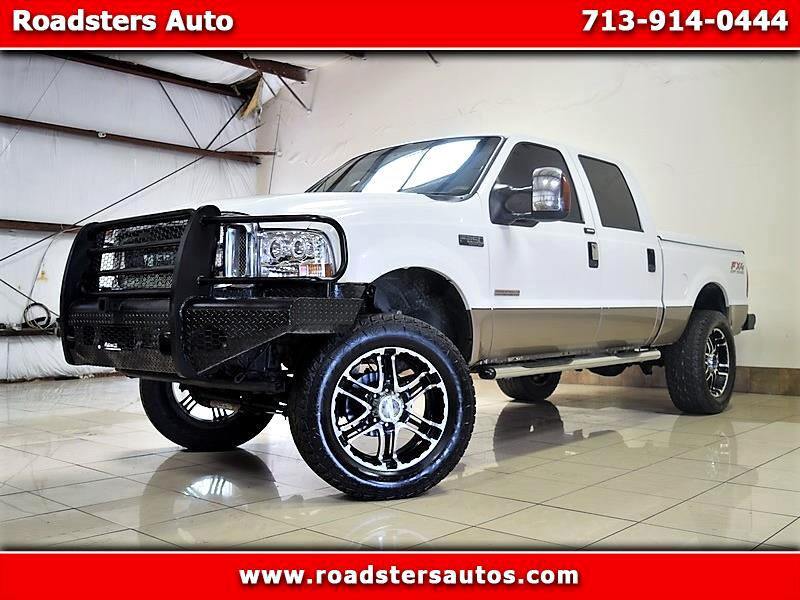 Ford F-250 SD Lariat Crew Cab Long Bed 4WD 2004