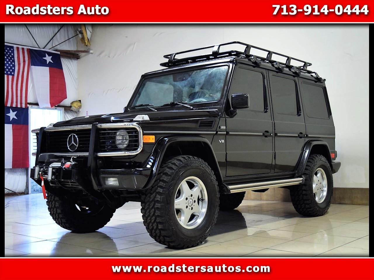 Used 2002 Mercedes Benz G Class G500 Custom Lifted Safari For Sale In Houston Tx 77063 Roadsters Auto