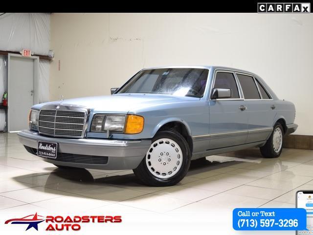 1987 Mercedes-Benz 420-Class SEL