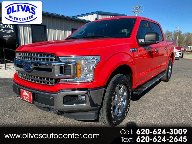 "Ford F-150 4WD SuperCrew 139"" XLT 2019"
