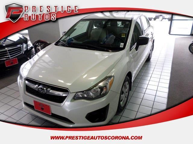 2012 Subaru Impreza Base 4-Door