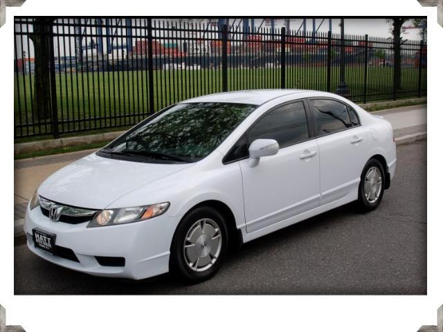 2010 Honda Civic Hybrid CVT AT-PZEV with Leather and Navigation