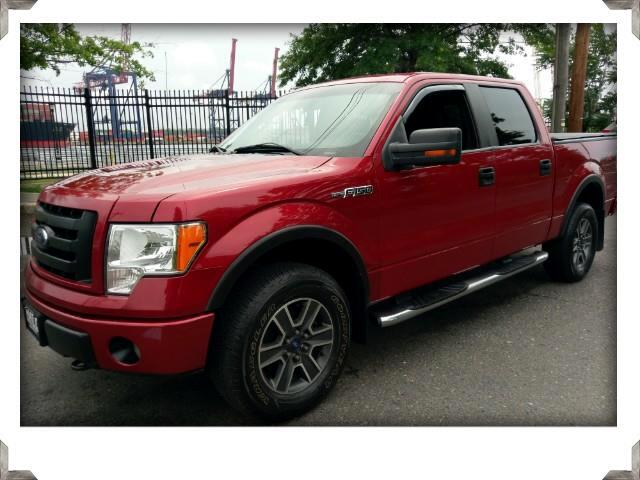 2010 Ford F-150 CREW CAB FX4 4WD SUNROOF