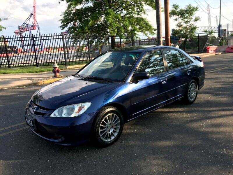 2005 Honda Civic LX SEDAN 5-SPD MANUAL