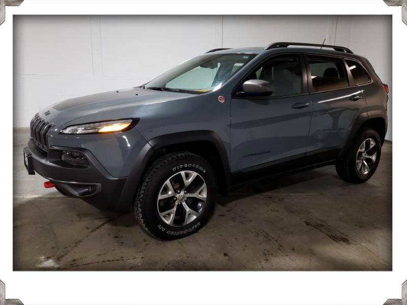 2014 Jeep Cherokee TRAILHAWK 4WD LEATHER SUNROOF w/BACK-UP CAMERA