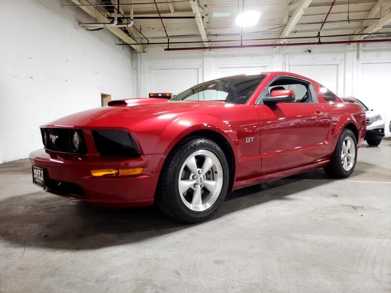 2008 Ford Mustang GT DELUXE COUPE 5-SPEED MANUAL